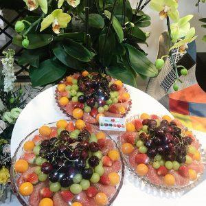 Đĩa hoa quả bổ sẵn